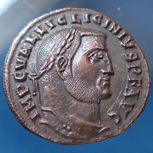 LICINIUS Ie, follis, Alexandrie, Alexandria