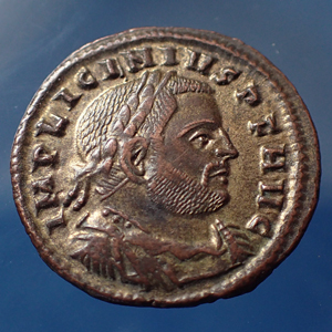 LICINIUS Ie, follis ou nummus Rome Roma